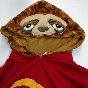 Adult Sloth costume large unisex